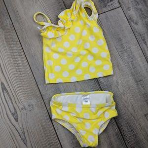 2 piece swim suit sz 9 months